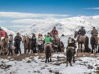 Cabalgatas hacia la Cordillera Nevada