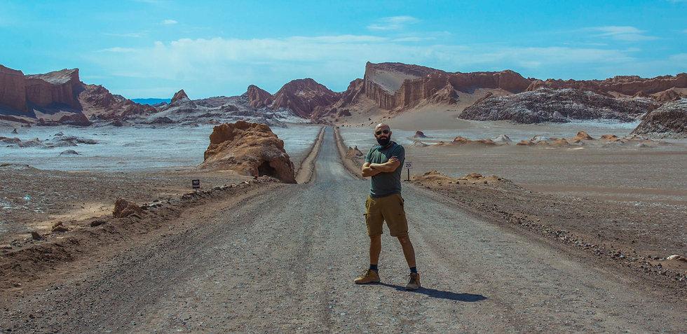 Photo of Tiago Brugnara, Vale de la Luna, Acatama.