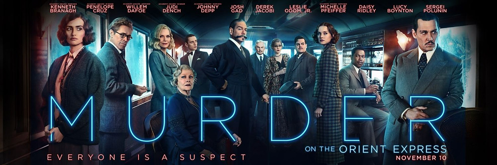 murder on the orient express 2017 film, new agatha christie movie, comparison of book and movie