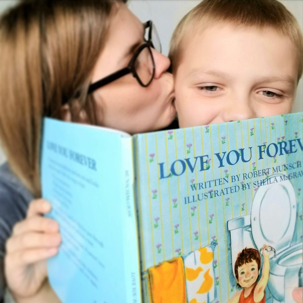 love you forever book cover, mom and son love quotes, mothers love book, best kids book