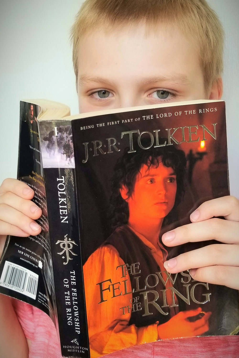 fellowship of the ring book review, lord of the rings book cover, high school reading list