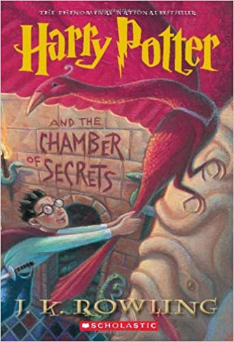 harry potter and the chamber of secrets by jk rowling, 2021 bucket list, reread harry potter