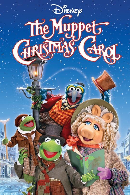 the muppet christmas carol movie, christmas movies streaming on disney +, kids christmas carol movie, holiday favorite films
