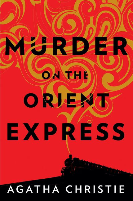 murder on the orient express cover art, agatha christie book and movie comparison