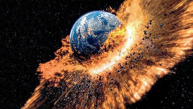 hitchhikers guide to the galaxy earth exploding, sci fi earth picture, galaxy interstellar highway image
