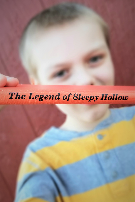 Sleepy Hollow book summary, elementary school blogger, washington irving sleepy hollow review, october reading list
