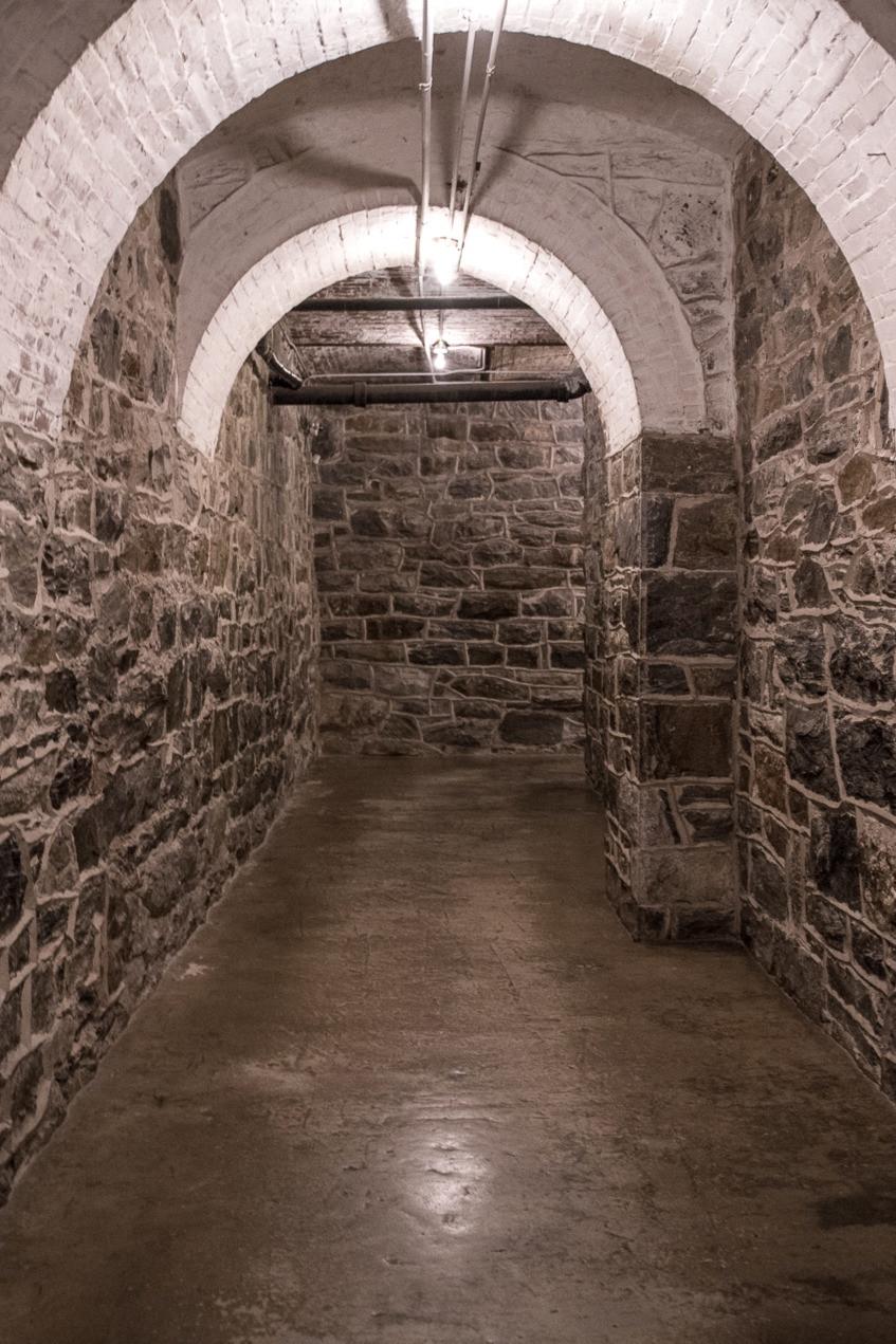 Biltmore basement picture, biltmore estate interior, serafina and the black cloak, stone hallway