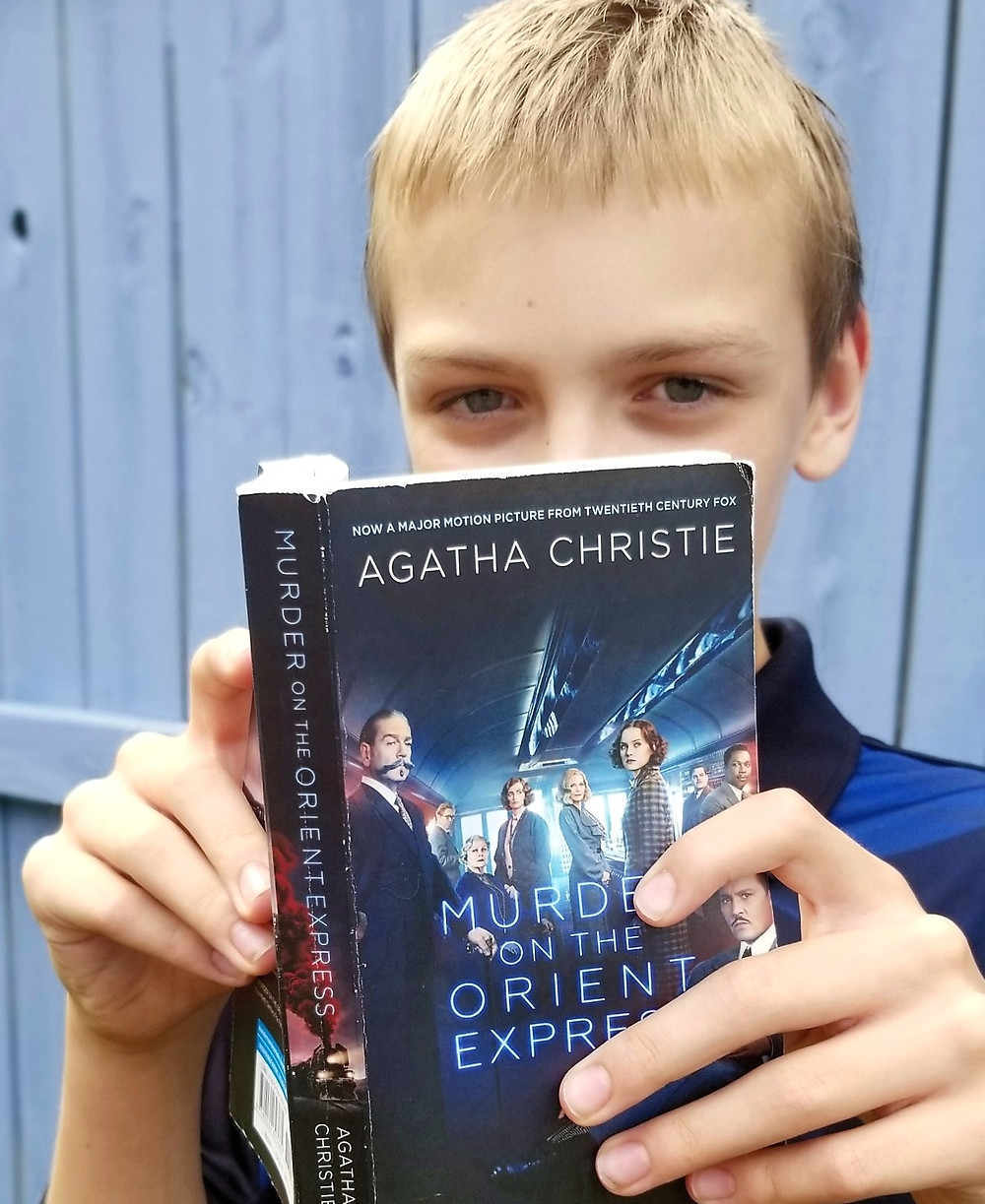 orient express movie vs book review, book to film summary, middle school book blog