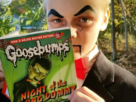 DIY Slappy Halloween Costume