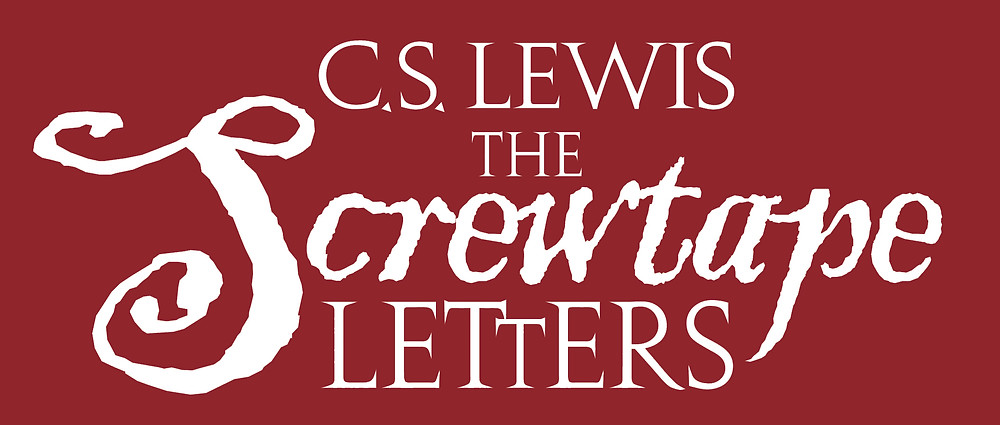 the screwtape letters logo, christian book review, cs lewis screwtape letters book