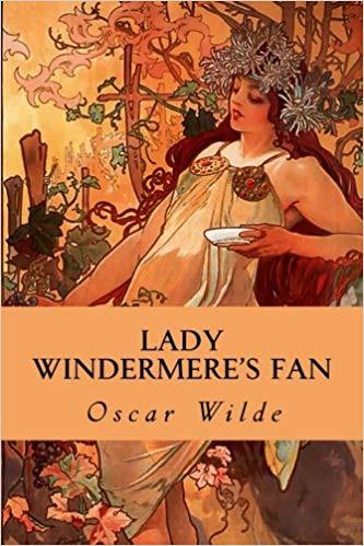 oscar wilde lady windermere's fan, classic comedy plays, oscar wilde cover art