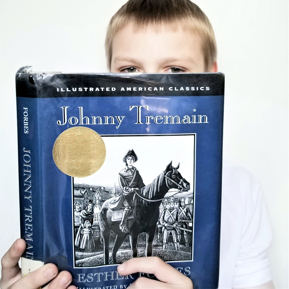 johnny tremain book summary, elementary kids book review,  5th grade books, hayden the reader