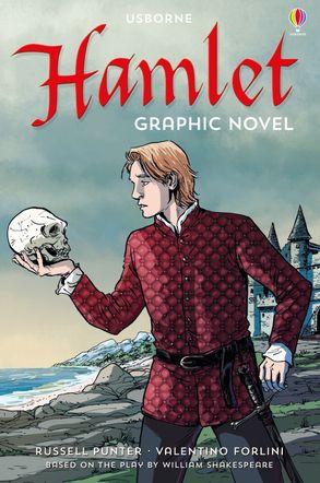 usborne book list, hamlet by william shakespeare, usborne graphic novel, elementary school graphic novel