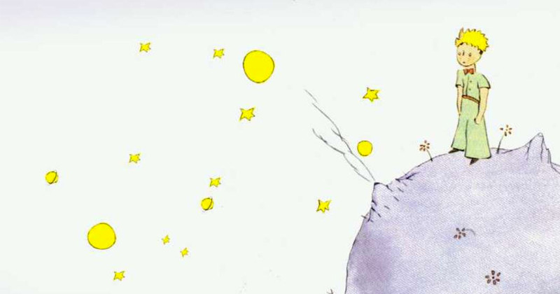 the little prince image, the little prince book review, little prince on the moon picture