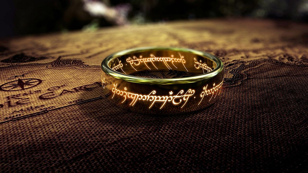 map of middle earth, ring from lord of the rings, ring of power lotr