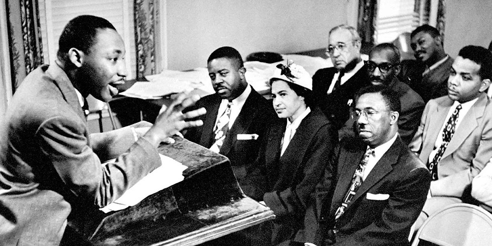 rosa parks and martin luther king picture, mlk and rosa parks, dr. martin luther king jr. image