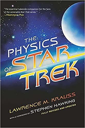the physics of star trek by lawrence m krauss book cover, star trek fandom blog, fun physics book for star trek fans