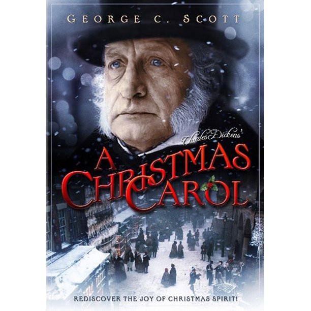 christmas carol with george c scott, classic christmas carol movie, favorite christmas carol movies