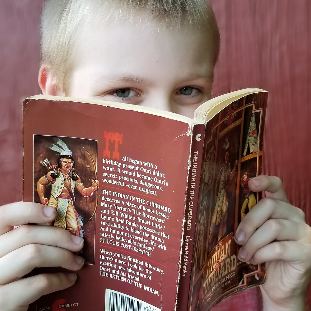 indian in the cupboard book review, indian in the cupboard book cover art, classic books for kids