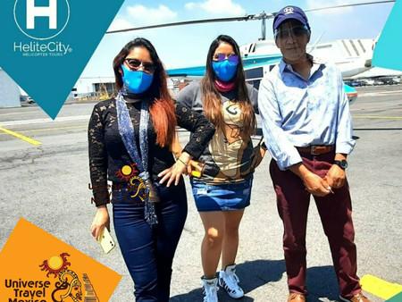 Viajeros De Corazón envía sus primeros clientes a volar en helicóptero
