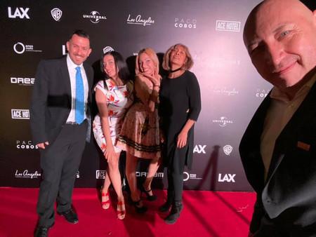 Fraveo en L.A. Adwards Night en el hotel Camino Real