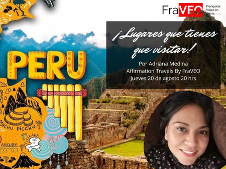 ¡VIVE LA MAGIA DEL #PERÚ!