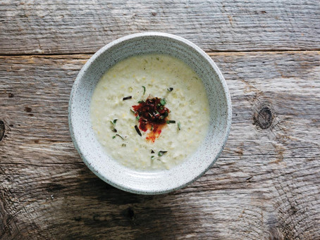 Corn & Coconut Soup Recipe for Edible Boston
