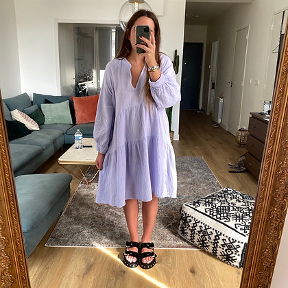 Robe BABY Lilas