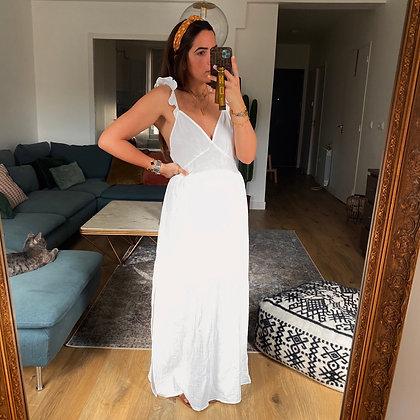 Robe GRACE Blanc