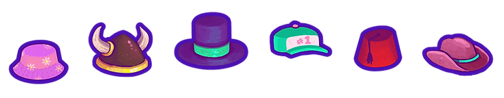 row of hats.png