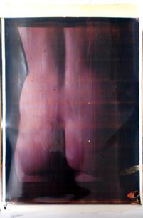 "o.t., 2012, 20x24"" polaroid, 105 x 58 cm"