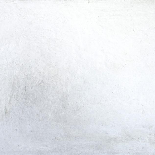 aus der serie 'übergänge' o.t., öl, pigment, verschiedene materialien auf leinwand, 70x120 cm