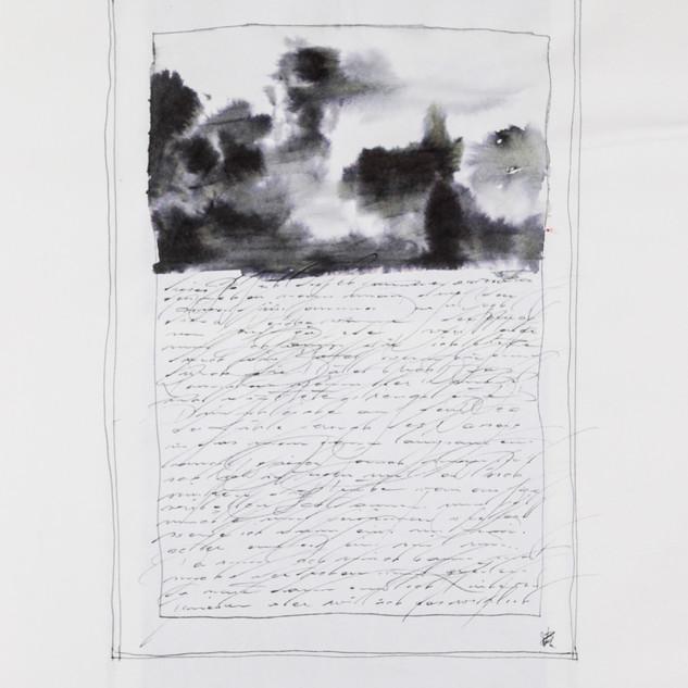 aus den skizzenbüchern, o.t., tusche auf papier, 2009
