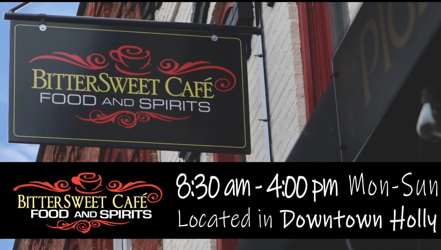 BitterSweet Cafe Food and Spirits
