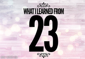 What I Learned From 23