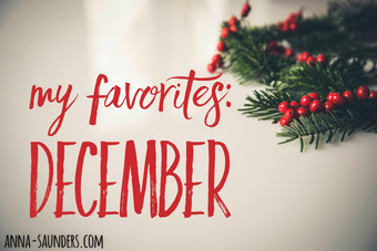 My Favorites: December