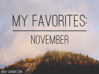 My Favorites: November