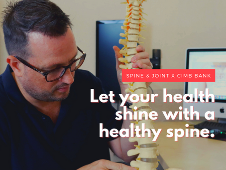 Know Your Spine Health: Spine and Joint collaborates with CIMB Bank