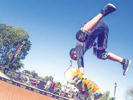 Mitchie Brusco lands first skateboarding 1260