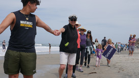 Hands Across the Sand continues fight against offshore drilling