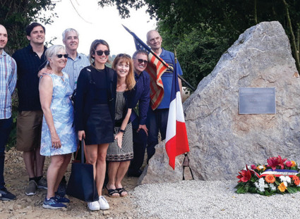 WWII monument lands Encinitas resident in France