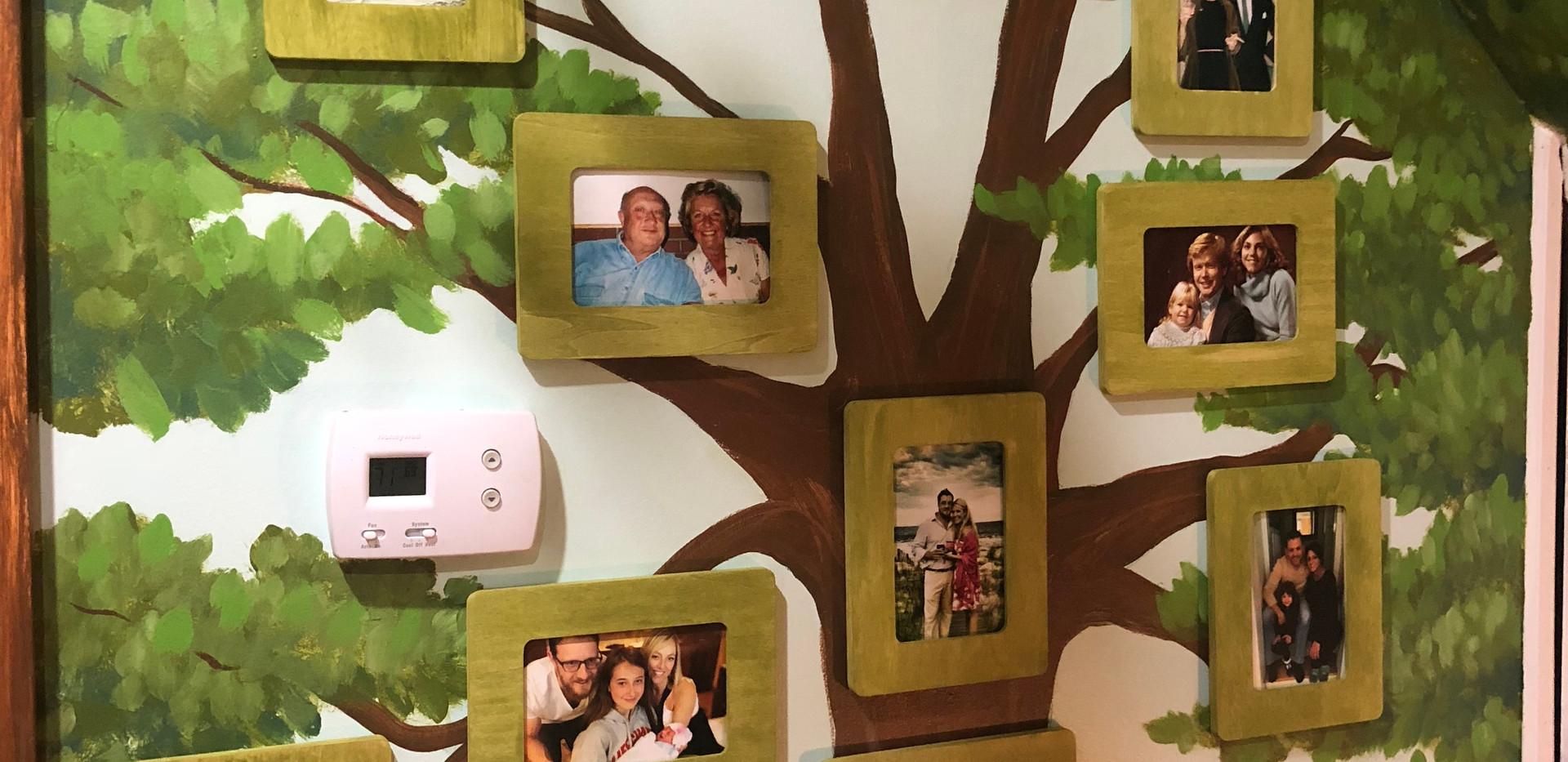 Tree House Bedroom! Family Tree