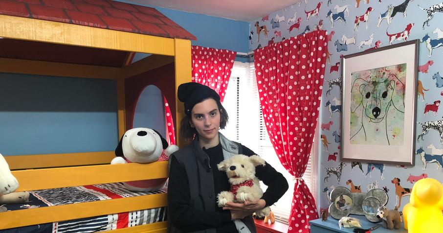 Puppy Bedroom!