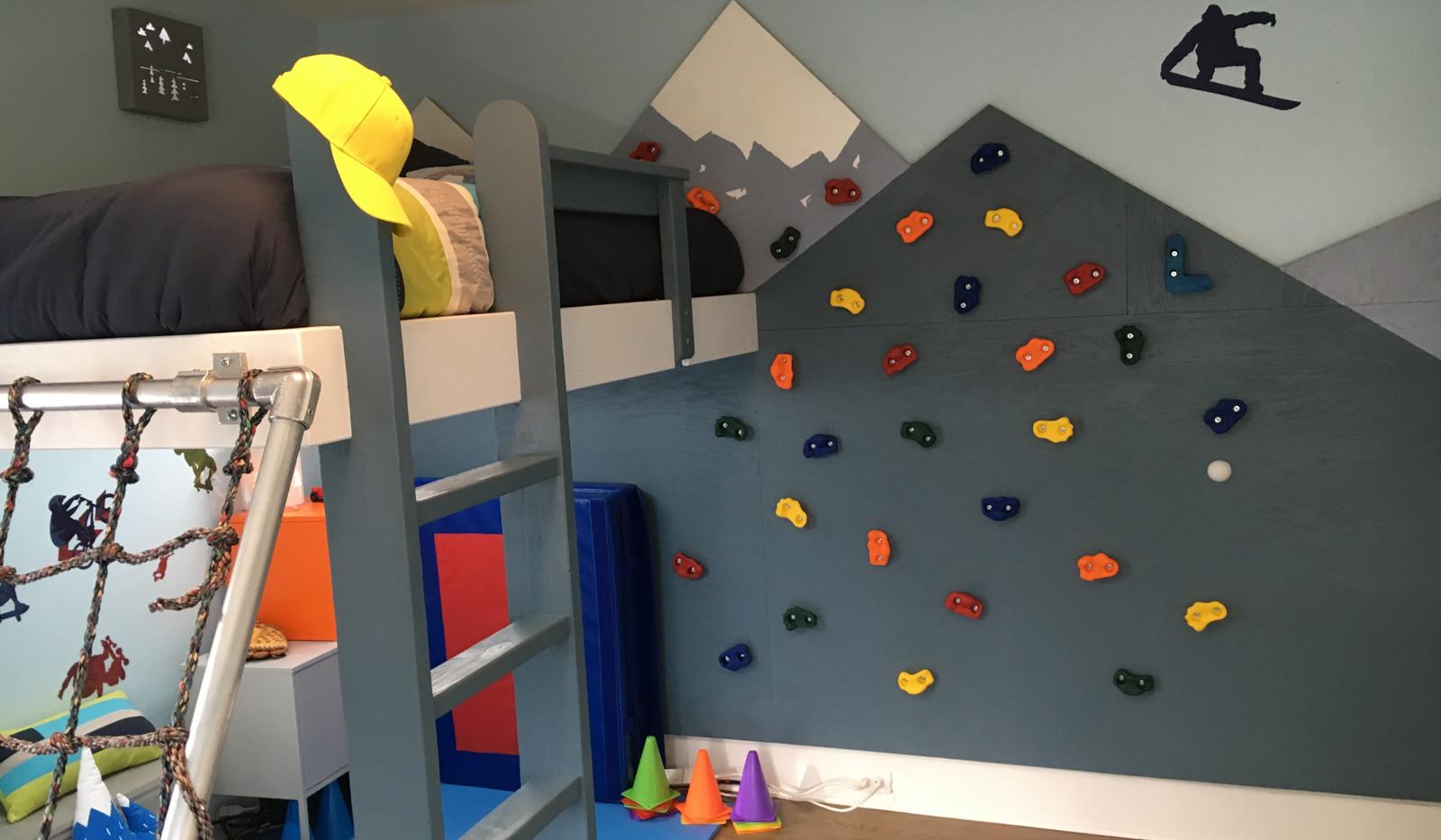 Extreme Sports Bedroom!