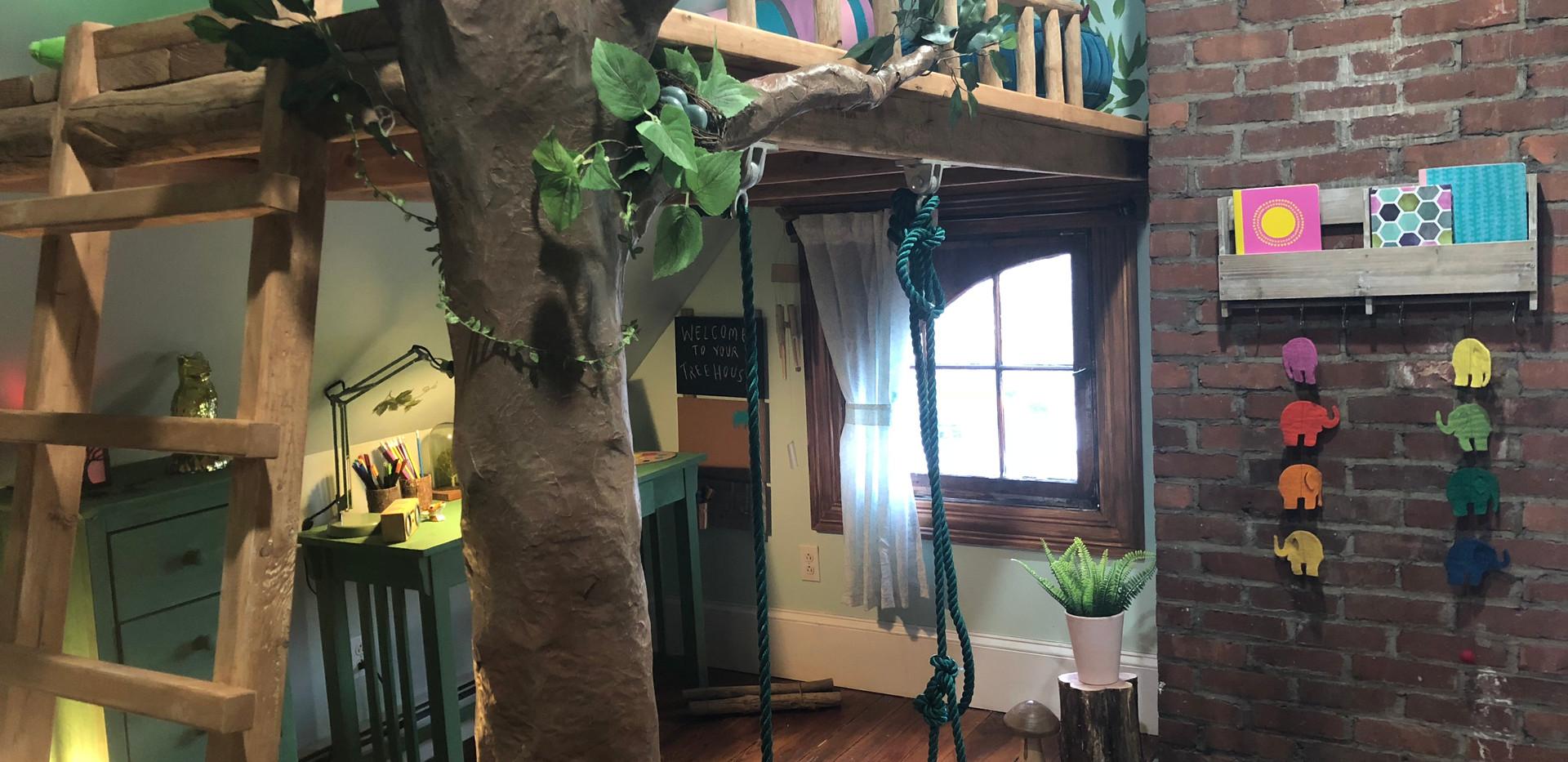 Tree House Bedroom!