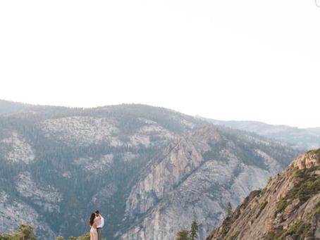 A Majestic Yosemite Engagement