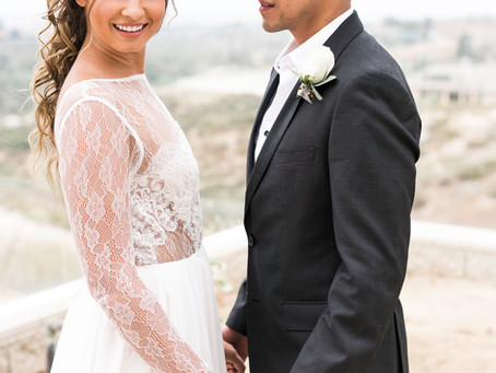 Intimate SoCal Wine Country Wedding