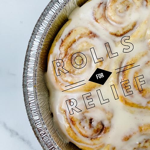 (Cinnamon) Rolls for Relief