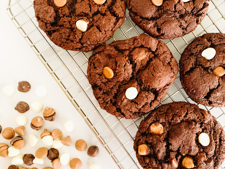 (The Best) Dark Chocolate Cookies