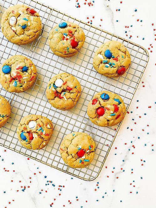 Firecracker Cookie Dough Balls